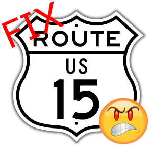 Fix Route 15 Now!